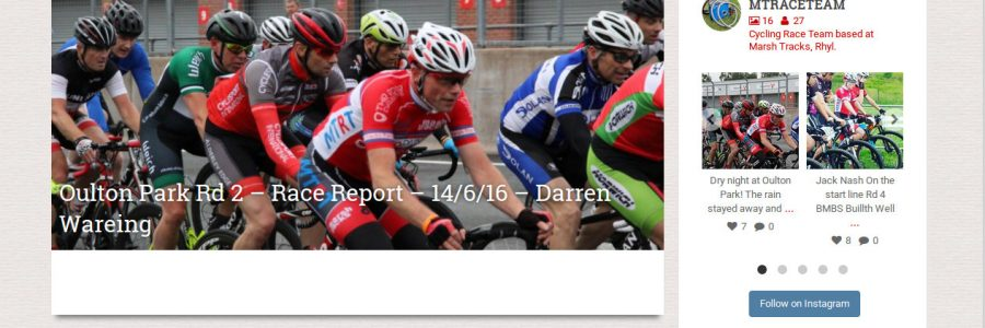 Marsh Tracks Race Team Website Live